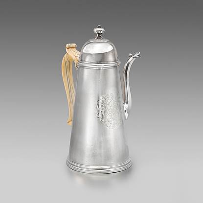 A Queen Anne Coffee Pot