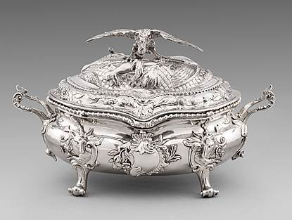 An Important George II Soup Tureen