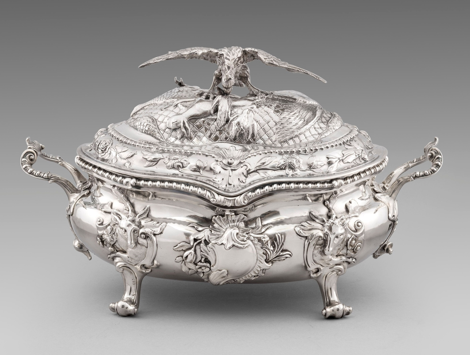 An Important George III Soup Tureen