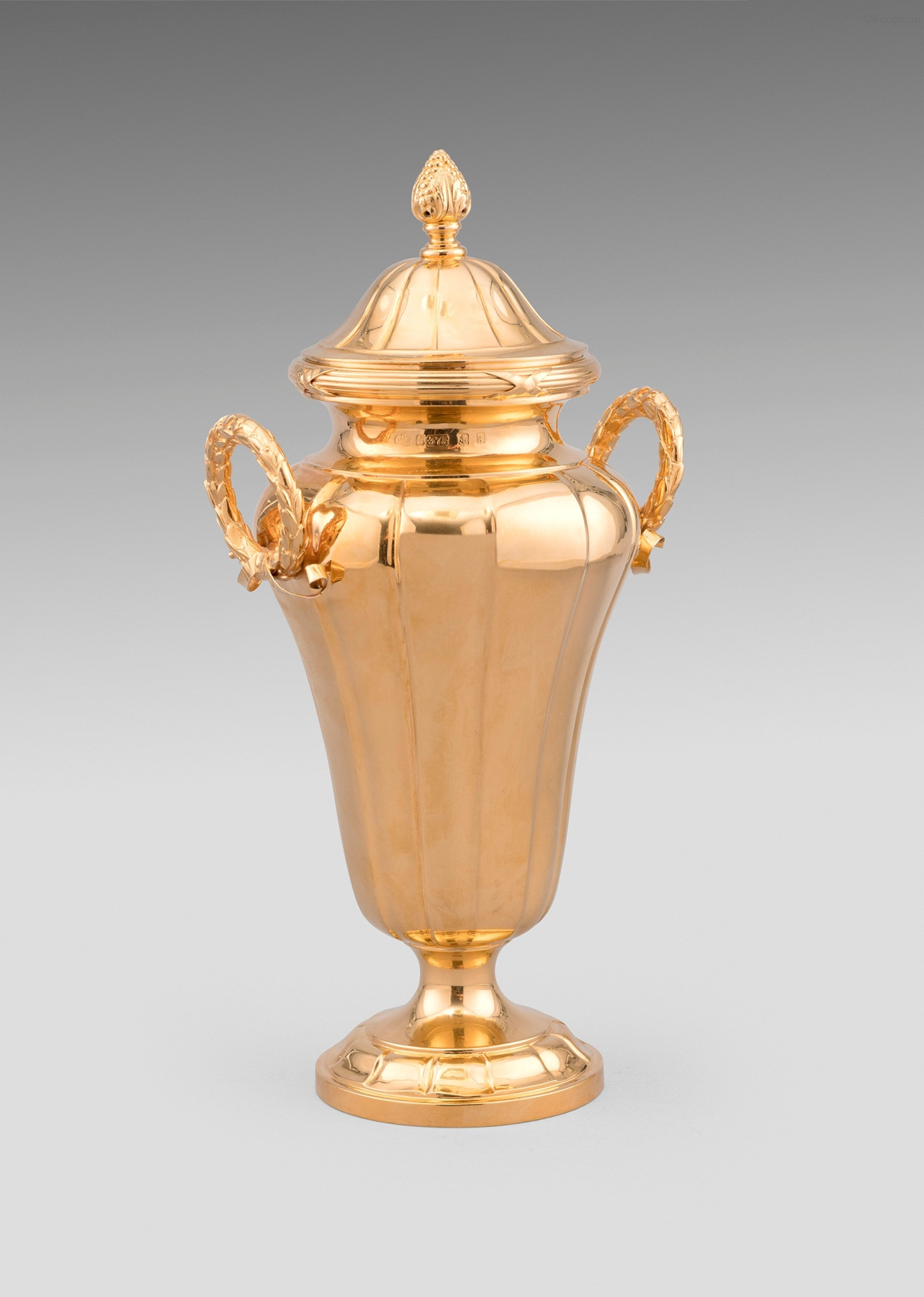 An Edwardian Gold Cup and Cover
