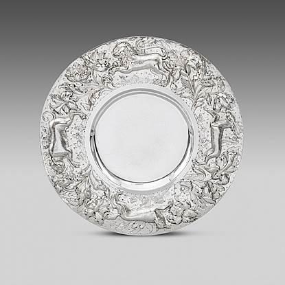 A Charles II Sideboard Dish