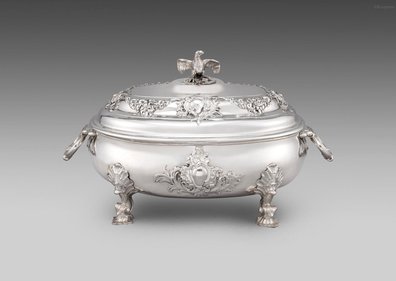 A George II Soup Tureen