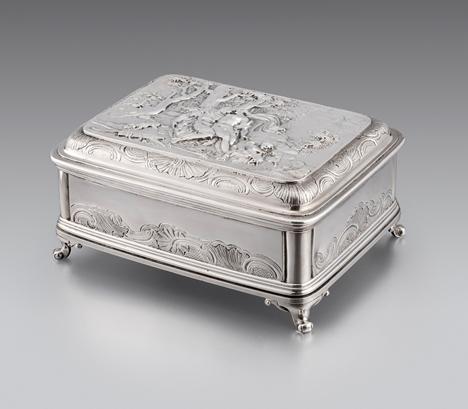A George II Dressing Table Box