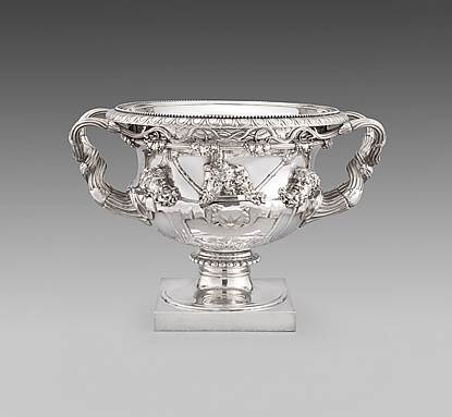A George III Wine Cooler shaped as The Warwick Vase