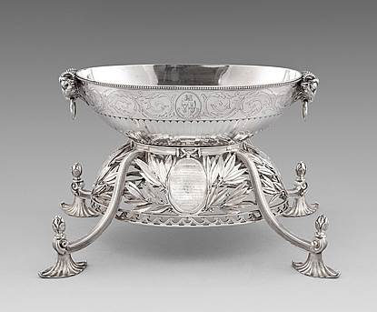A George III Epergne Centrepiece