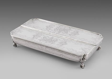 A George III Treasury Inkstand
