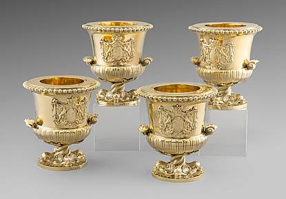 An Important Set of George III Wine Coolers