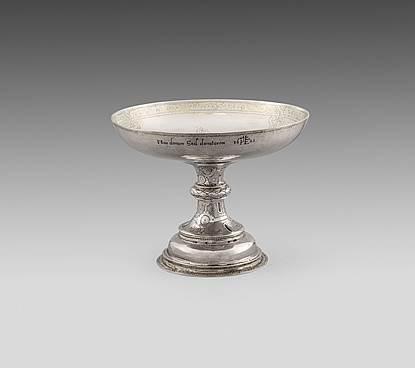 An Elizabeth I Silver Tazza