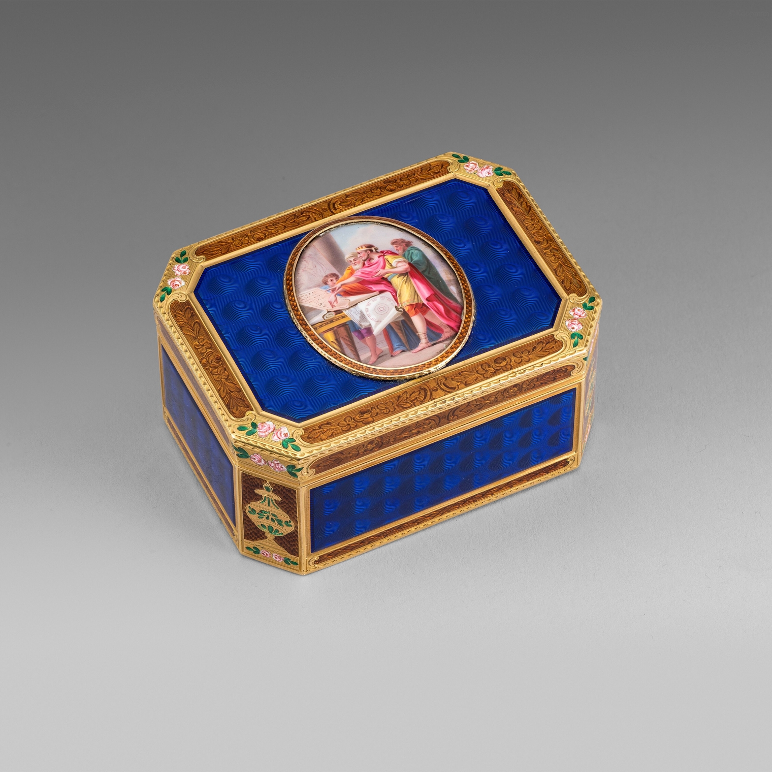 A German Gold & Enamel Box