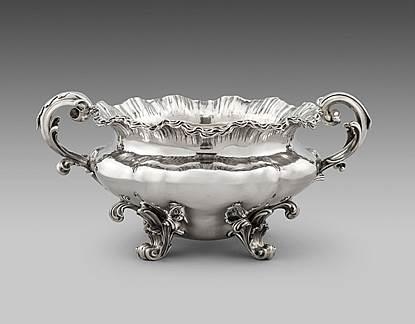 A William IV Centrepiece Bowl