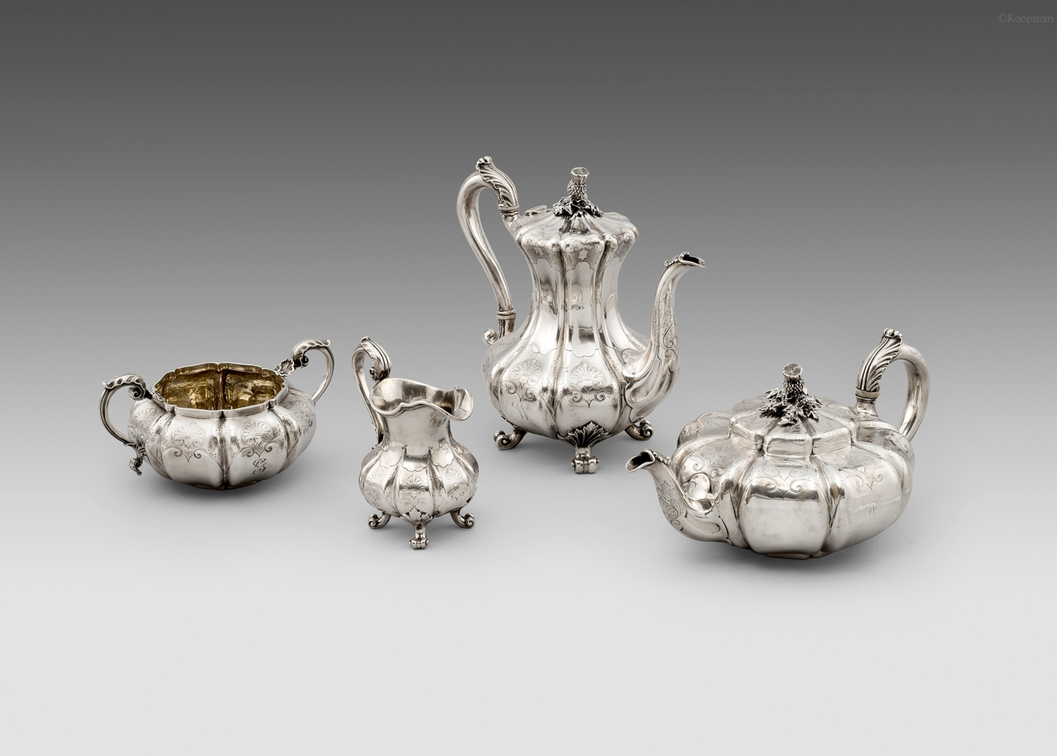 A Paul Storr Tea and Coffee Set