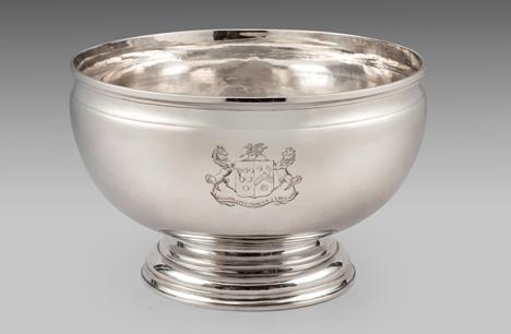 An Elegant Punch Bowl