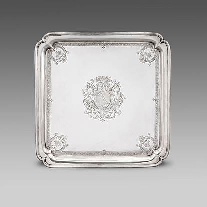 A George II Salver