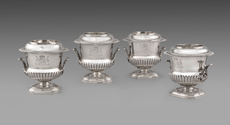 A Set of Four George III Wine Coolers
