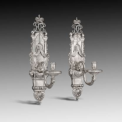 A Pair of Queen Anne Wall Sconces