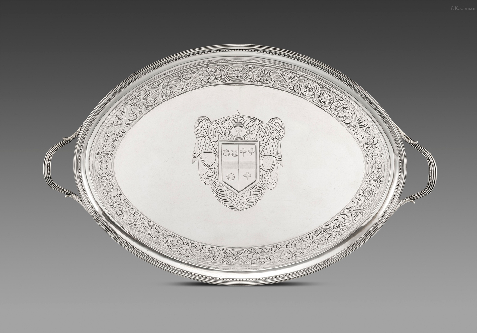 A George III Two Handle Tray