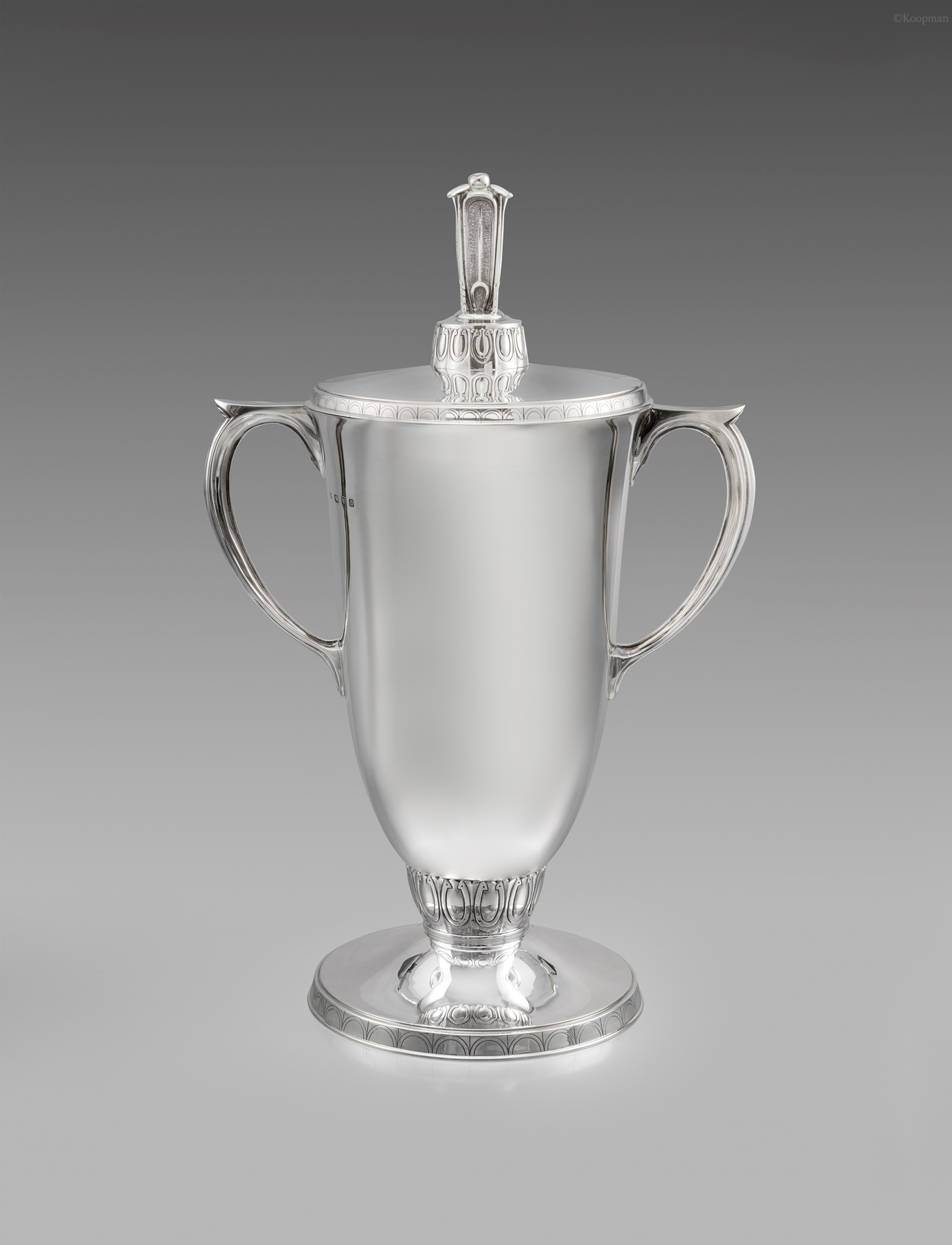 A George VI Two Handled Cup and Cover