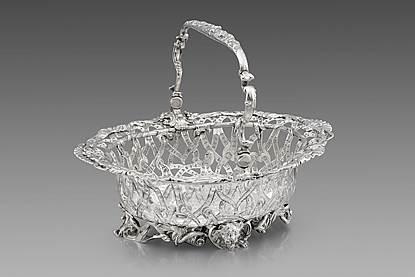 An Elaborate George II Basket