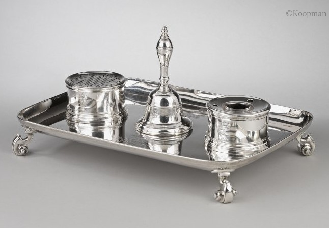 An Inkstand made for the Lord Chancellor of England