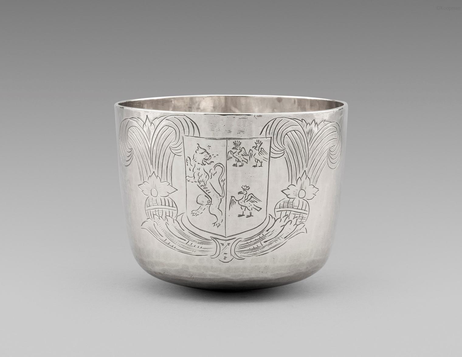 A Charles II Tumbler Cup