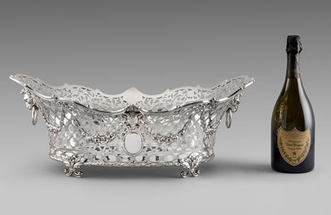 An Exquisite Pierced Victorian Centrepiece