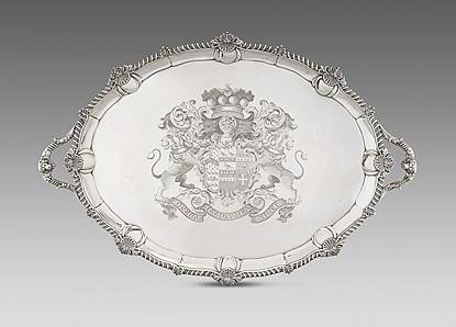 An Ornate George III Tray