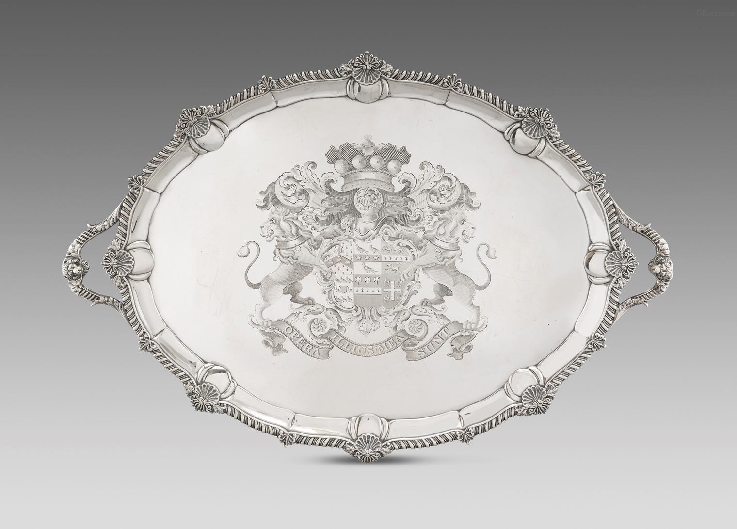 An Ornate George III Tray