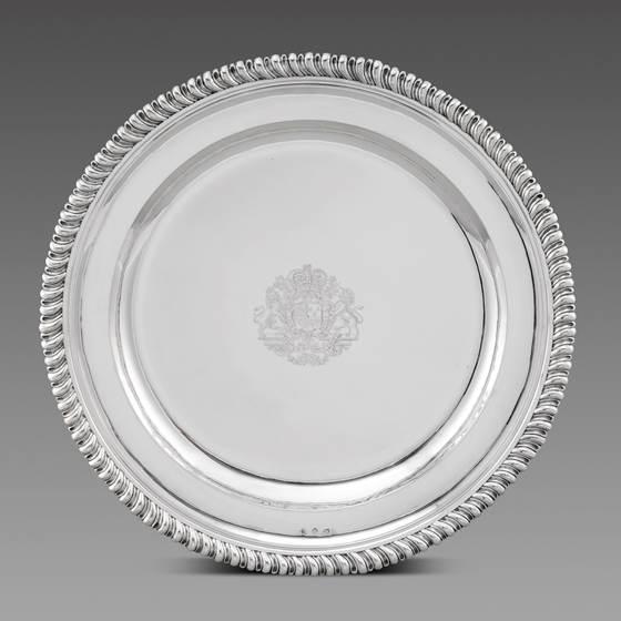 A Royal Sideboard Dish