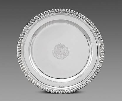 A Royal Sideboard Dish