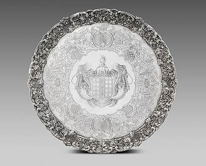 A Monumental George IV Salver