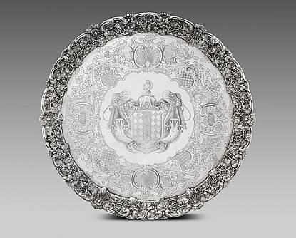 A Monumental George IV Salver