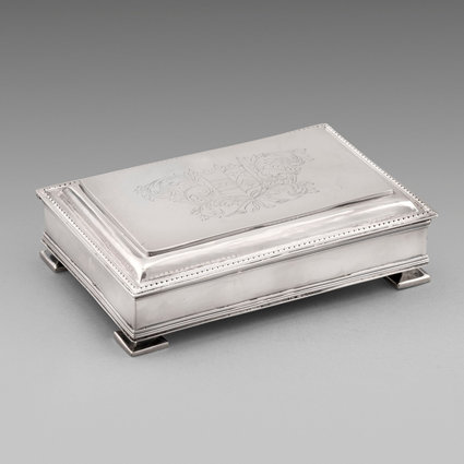 A Rare Charles II Inkstand