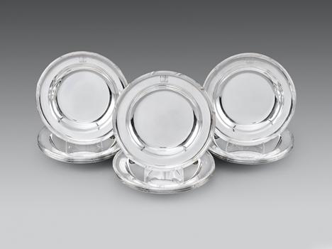 A Set of Twelve George III Soup Plates