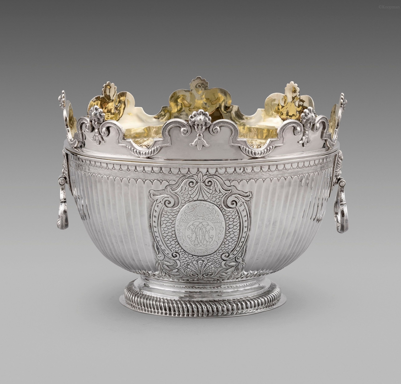 A William III Monteith Bowl