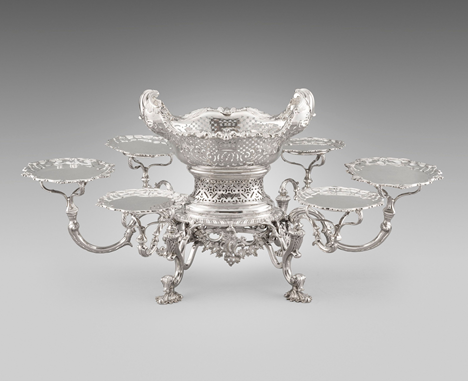 An Extremely Rare and Important George III Scottish Epergne