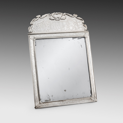 An Elegant Chinoiserie Mirror