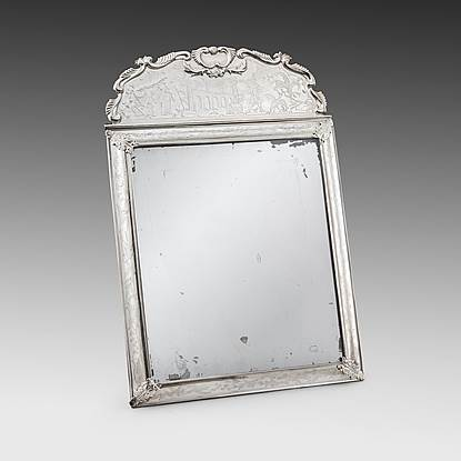 A William & Mary Mirror