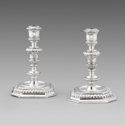 A Pair of Extraordinarily Sized Candlesticks