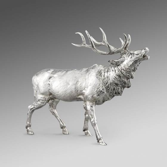 A 19th Century German Model of a Royal Stag