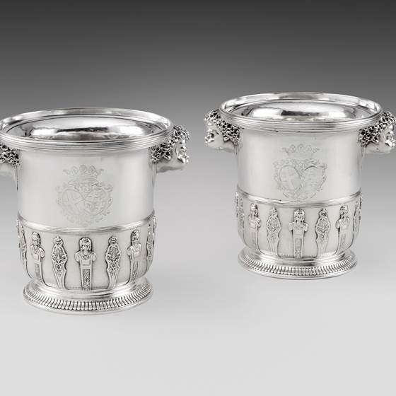A Highly Important Pair of 18th Century Maltese Wine Coolers