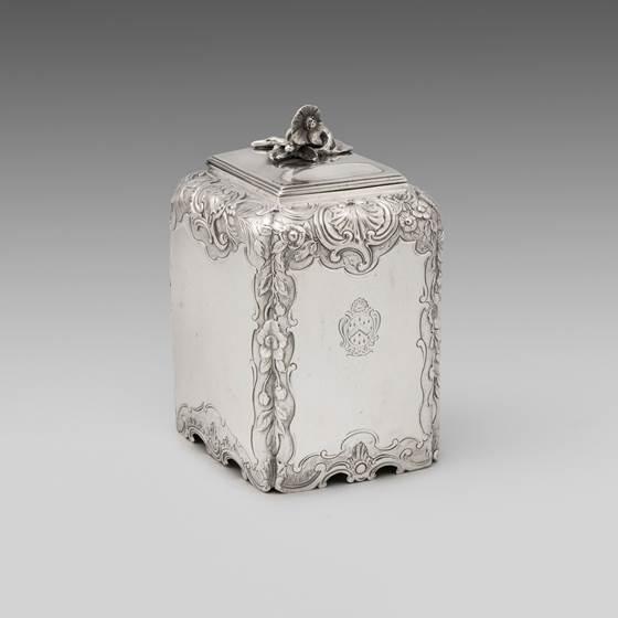 An 18th Century Tea Caddy