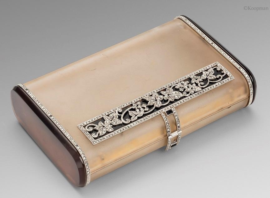 A French Gold Boucheron Box