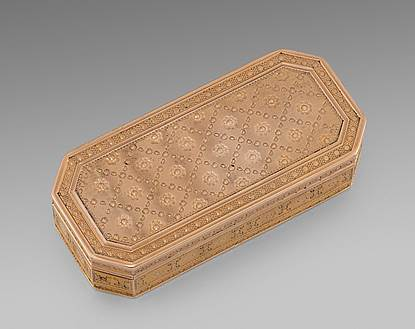 A French Gold Snuff Box