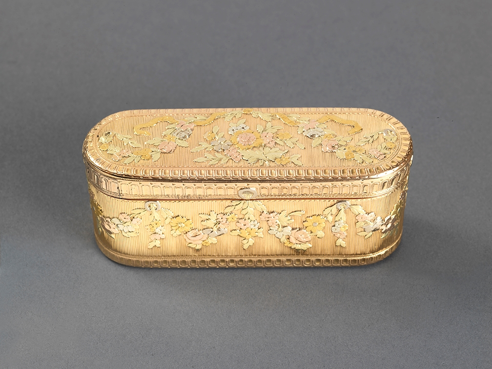 A French Louis XV Vari-Coloured Gold Box