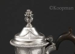 A George III Coffee Pot