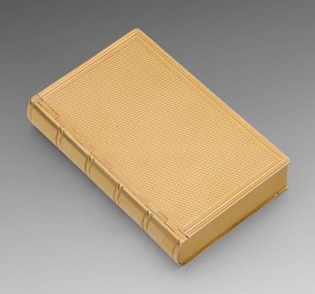 An Exquisite Georgian Book Snuff Box