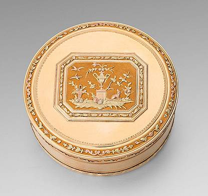 An 18th Century Swiss Gold Snuff Box