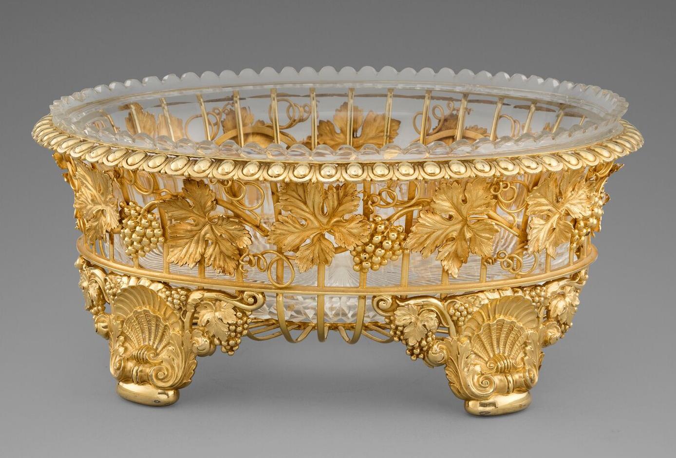 An Elegant George III Dessert Basket