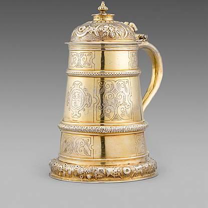 An Exceptionally Rare Elizabeth I Tankard
