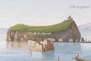 A Large Italian Micromosaic of Isola di Nisida